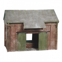 Model kit OO: goods shed