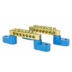 Solid Brass Power Distribution Bars (2 Pack) - DCC concepts