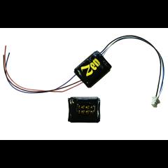 Zen Black decoder - 8 pin direct - 6 functions - DCC concepts
