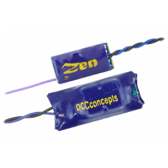 Zen NANO 8 pin Direct 4 Function with Stay Alive - DCC concepts