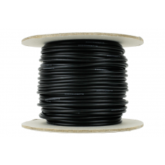 25 m black power bus wire 2.5mm - DCC concepts