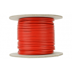 25 m red power bus wire 2.5mm - DCC concepts