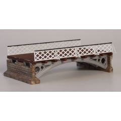 Model kit 00: double track viaduct (one span with two abutments)