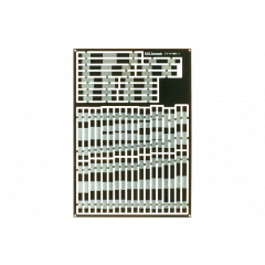 Pre-Etched Sleepers 1.6mm (4mm scale) diamond crossing. - DCC concepts