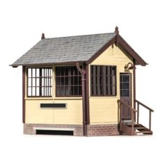 Model kit O: Wooden Signal Box