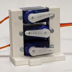 Model 2 servo support for up to three mini servos