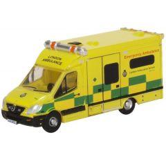 Mercedes Benz Sprinter - London Ambulance - Oxford Diecast - N scale