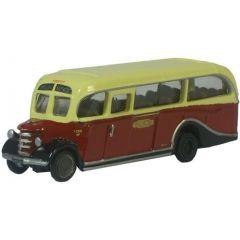 Bedford OB Coach - Oxford Diecast - N scale