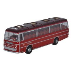 Plaxton Panorama Coach - Midland red - Oxford Diecast - N scale