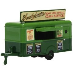 Mobile booking office - Southdown - Oxford Diecast - N scale