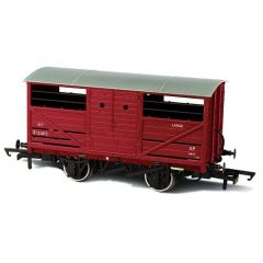 BR Cattle Wagon E151872 - Oxford Rail