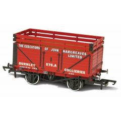 7 plank Coke wagon - John of Hargreaves -  Oxford Rail