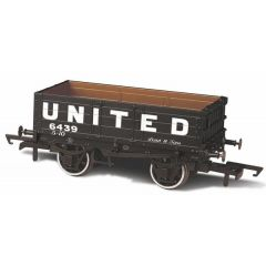 4 Plank  Wagon - United Coileries - Oxford Rail