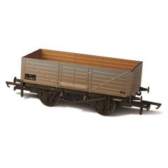 6 Plank  Wagon - BR - weathered - Oxford Rail