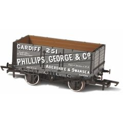 7 Plank Mineral Wagon - Phillips, George & Co - Oxford Rail