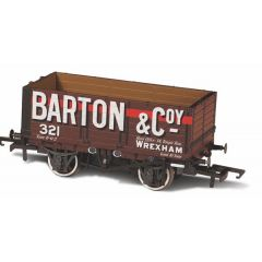 7 Plank Mineral Wagon - Barton And Co  - Oxford Rail