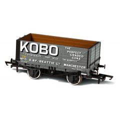 7 Plank Mineral Wagon - Kobo  - Oxford Rail