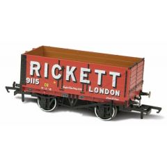 7 Plank Mineral Wagon - Rickett   - Oxford Rail