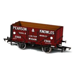 7 Plank Mineral Wagon - Pearson & Knowles  - Oxford Rail