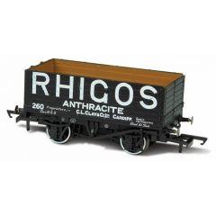 7 Plank Mineral Wagon - Rhigos Anthracite Cardiff - Oxford Rail
