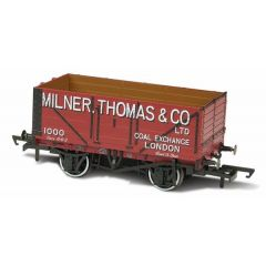 7 Plank Mineral Wagon - Milner Thomas And Co London - Oxford Rail
