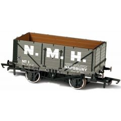 7 plank Mineral wagon  - Napsbury Hospital Cmtte No 1 -  Oxford Rail