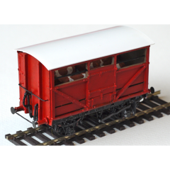 whitemetal kit: NER 10T fitted cattle wagon, diagram K1