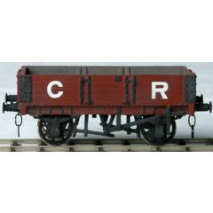 whitemetal kit: Caledonian Railway and LMS - diagram 24: 8/10t, centre door open wagon