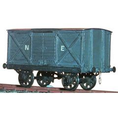 whitemetal kit: North Eastern Railway, LNER: Diagram G1: 8 ton covered goods wagon