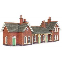 Model kit N:  Country station- Metcalfe - PN137