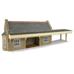 Model kit N:  Wayside station shelter - Metcalfe - PN139