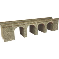 Model kit N: Double track stone viaduct - Metcalfe - PN141