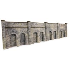 Model kit N: retaining wall - stone - Metcalfe - PN144
