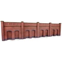 Model kit N: retaining wall - brick - Metcalfe - PN145