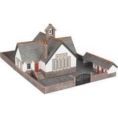 Model kit N: Village school - Metcalfe - PN153