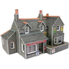 Model kit N:  Village shop and cafe - Metcalfe - PN154