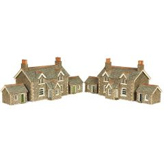 Model kit N: Workers cottages - Metcalfe - PN155