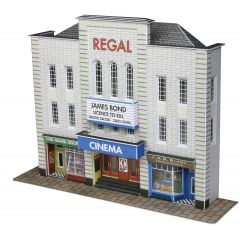 Model kit N: Low relief cinema - Metcalfe - PN170
