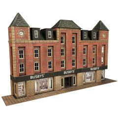 Model kit N: Low relief department store - Metcalfe - PN179
