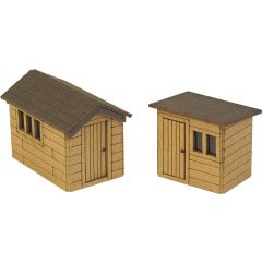 Model kit N: garden sheds - Metcalfe - PN812
