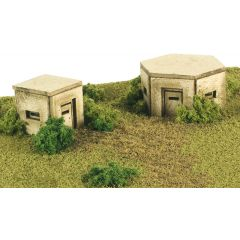 Model kit N: Pillboxes - Metcalfe - PN820