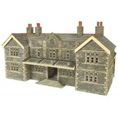 Model kit N: Mainline station booking hall - Metcalfe - PN920