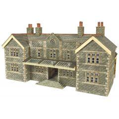 Model kit N: Mainline station booking hall - Metcalfe - PN920
