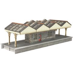 Model kit N: Island platform building - Metcalfe - PN922