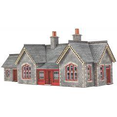 Model kit N: Settle and Carlisle Railway station - Metcalfe - PN933