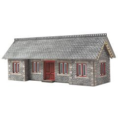 Model kit N: Settle and Carlisle Railway station shelter - Metcalfe - PN934