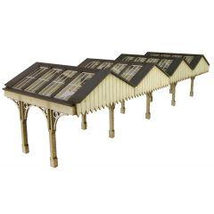 Model kit N: platform canopy - Metcalfe - PN940