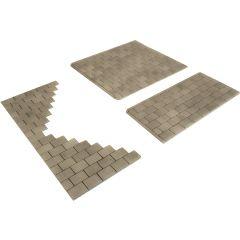 HO/OO scale Individual stone paving slabs - Metcalfe - PO210