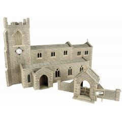 Model kit OO/HO: Parish church - Metcalfe - PO226