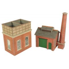 Model kit OO/HO: Water tower and sandhouse - Metcalfe - PO227